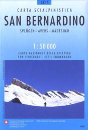 San Bernardino ; 267 S - Couverture - Format classique
