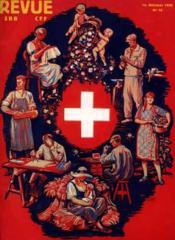 SBB Revue CFF, Swiss Federal Railways. N° 10 Schweizer-Woche / Semaine Suisse Settimana Svizzera - Couverture - Format classique