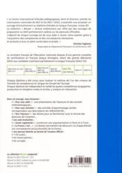 Reussir le DELF B2 - 4ème de couverture - Format classique