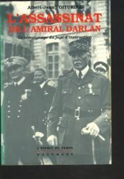 L'assassinat de l'amiral darlan - Couverture - Format classique