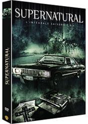 Supernatural - L'Intégrale Saisons 1 À 4 - Couverture - Format classique