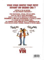 L'art du vin - 4ème de couverture - Format classique