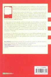 Droit du travail - 4ème de couverture - Format classique