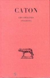 Origines (fragments) - Couverture - Format classique