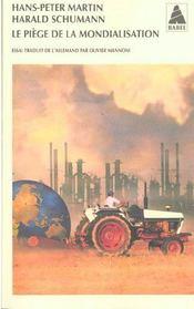 Le Piege De La Mondialisation Babel 453 - Intérieur - Format classique