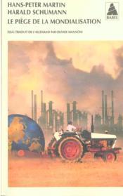 Le Piege De La Mondialisation Babel 453 - Couverture - Format classique