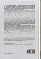La Conversation Interieure ; La Meditation En France Au Xvii Siecle - 4ème de couverture - Format classique