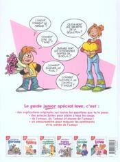 Le guide junior special love - 4ème de couverture - Format classique