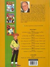 Chick Bill ; intégrale t.8 - 4ème de couverture - Format classique