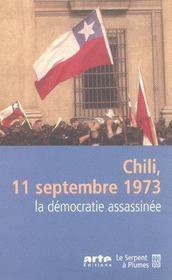 Chili 11 Septembre 1973 - Intérieur - Format classique
