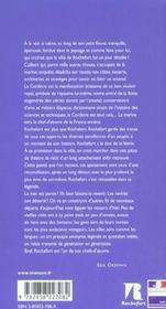 Rochefort ; le guide des musées monuments promenades - 4ème de couverture - Format classique