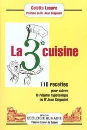 Cuisine de la 3e médecine - Intérieur - Format classique