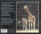 Zoo Des Z Enfants - 4ème de couverture - Format classique