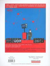 Cinematheque N.18 - 4ème de couverture - Format classique