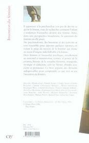 Invention du feminin (2eme edition) - 4ème de couverture - Format classique
