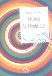 Lettre à la République - Intérieur - Format classique