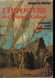 L'imposture de christophe colomb - Couverture - Format classique
