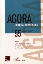 REVUE AGORA DEBATS JEUNESSES T.55 ; le