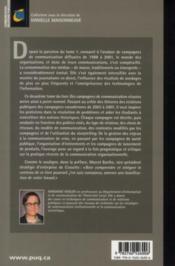Des campagnes de communication réussies t.2 ; 42 études de cas primés - 4ème de couverture - Format classique