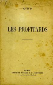 Les Profitards. - Couverture - Format classique