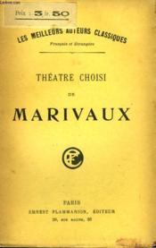 Theatre Choisi De Marivaux. - Couverture - Format classique