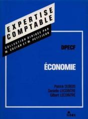 Economie : DPECF - Couverture - Format classique