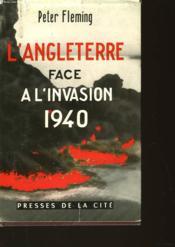 L'Angleterre Face A - L'Incosion 1940 - Couverture - Format classique