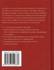 Envie De... ; Poulet ; Plus De 100 Recettes Appétissantes - 4ème de couverture - Format classique
