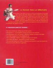 La Guitare Pour Les Debutants - 4ème de couverture - Format classique