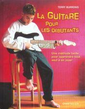 La Guitare Pour Les Debutants - Intérieur - Format classique