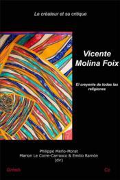 Vicente Molina Foix: el creyente de todas las religiones - Couverture - Format classique