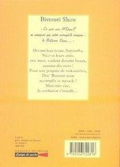 Bistouri show - 4ème de couverture - Format classique