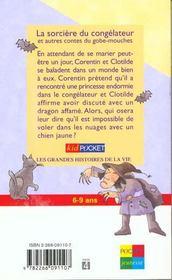 La Sorciere Du Congelateur - 4ème de couverture - Format classique