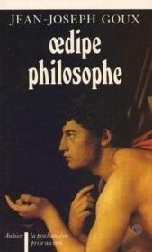 Oedipe philosophe - Couverture - Format classique