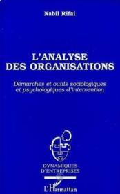 L'Analyse Des Organisations - Couverture - Format classique