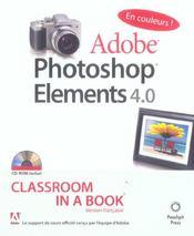 Photoshop elements 4.0 - Intérieur - Format classique