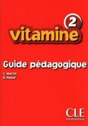 Niveau 2 ; guide pédagogique - Couverture - Format classique