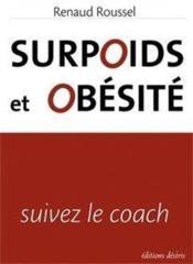 Surpoids et obésité ; suivez le coach - Couverture - Format classique