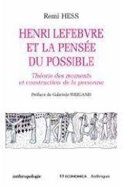 Henri Lefèbvre et la pensée du possible - Couverture - Format classique