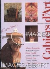 CAHIERS D'ART. ITALIA. N°13. GIUGNO 1996. ALBERTO BRAGAGLIA. WILLIAM CONGDON. GLENN GOULD. ALAIN LE YAOUANC. MIRANDO HAZ. FAUSTO MELOTTI. I SALMI DI QUMRAN. ATLANTE AGNESE . (Poids de 552 grammes) - Couverture - Format classique
