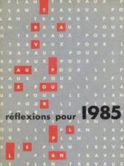 Réflexions pour 1985 - Couverture - Format classique