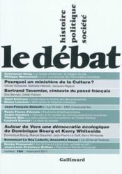 Revue Le Débat N.164 ; (mars/avril 2011) - Couverture - Format classique