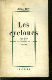 Les Cyclones. Theatre. - Couverture - Format classique