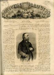 L'UNIVERS ILLUSTRE - SEPTIEME ANNEE N° 317 - Hippolyte Flandrin, membre de l'Institut, d'après une photographie de Et. Carjat. - Couverture - Format classique