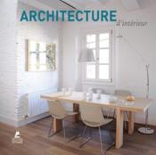 Architecture d'intérieur - Couverture - Format classique