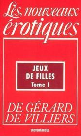 Nouvelles Erotiques T.181 ; Jeux De Filles T.1 - Couverture - Format classique