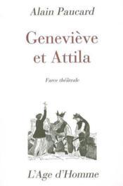 Genevieve Et Attila - Couverture - Format classique