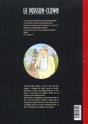 Le poisson-clown t.3 ; Aïdan - 4ème de couverture - Format classique
