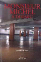 Monsieur michel a disparu - Intérieur - Format classique