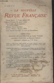 Collection La Nouvelle Revue Francaise N° 164. - Couverture - Format classique
